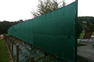 Propose belgique galerie de tout les types de brise vue for Cloture de jardin en toile